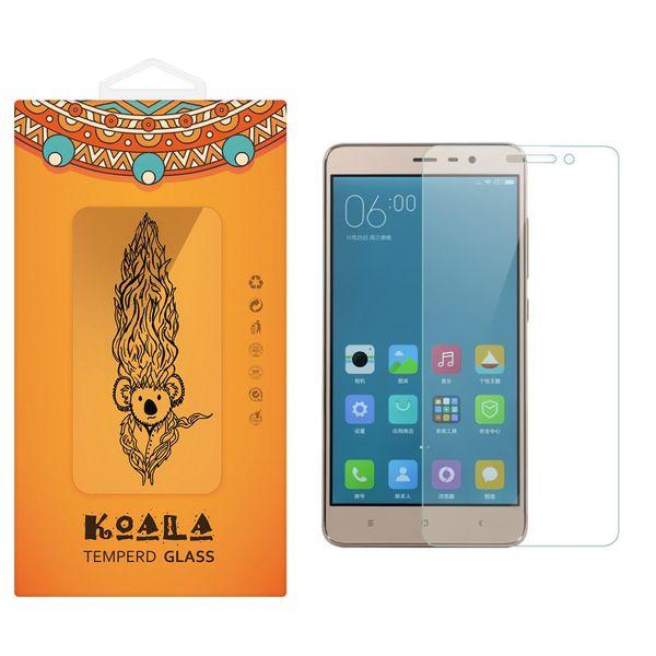 محافظ صفحه نمایش شیشه ای کوالا مدل Tempered مناسب برای گوشی موبایل شیائومی Redmi 3