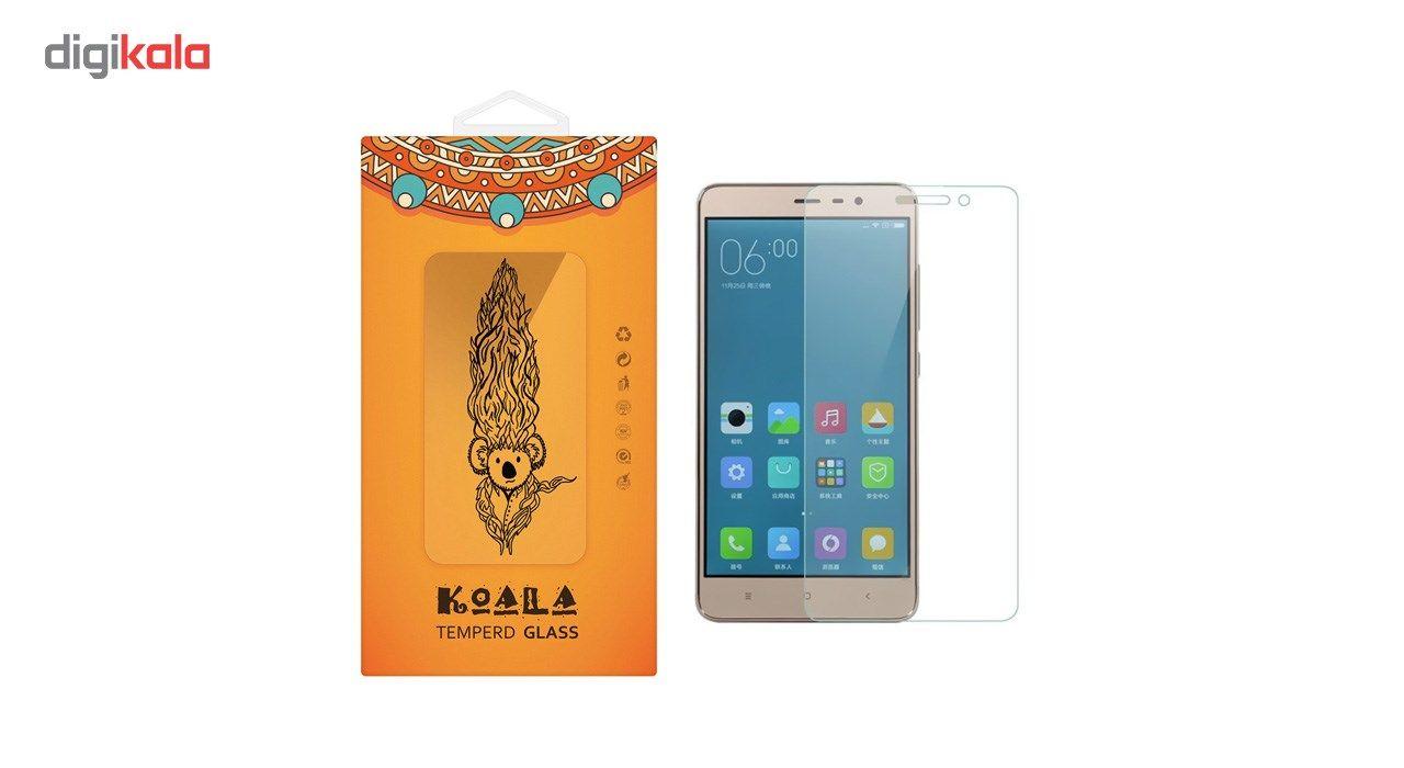 محافظ صفحه نمایش شیشه ای کوالا مدل Tempered مناسب برای گوشی موبایل شیائومی Redmi 3 main 1 1