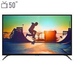 تلویزیون ال ای دی هوشمند فیلیپس مدل 50PUT6002 سایز 50 اینچ