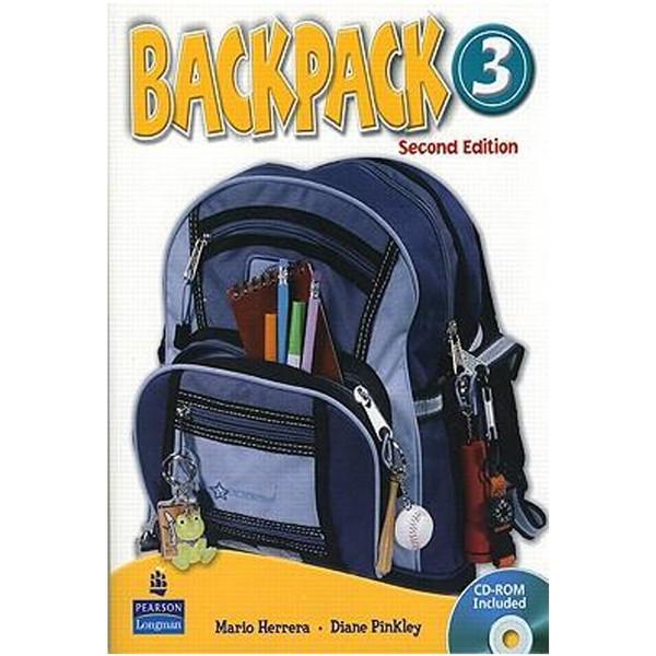 کتاب زبان   Backpack 3 Workbook AND Student Book