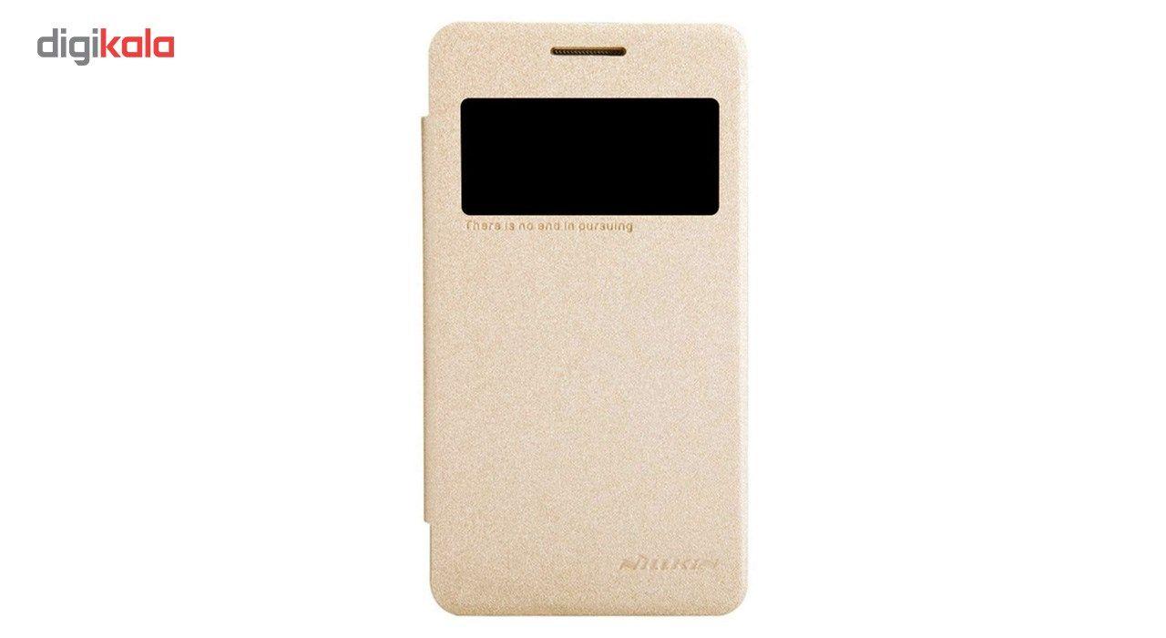 کیف کلاسوری نیلکین مدل New Leather Sparkle مناسب برای گوشی موبایل سامسونگ Galaxy Core 2 main 1 1