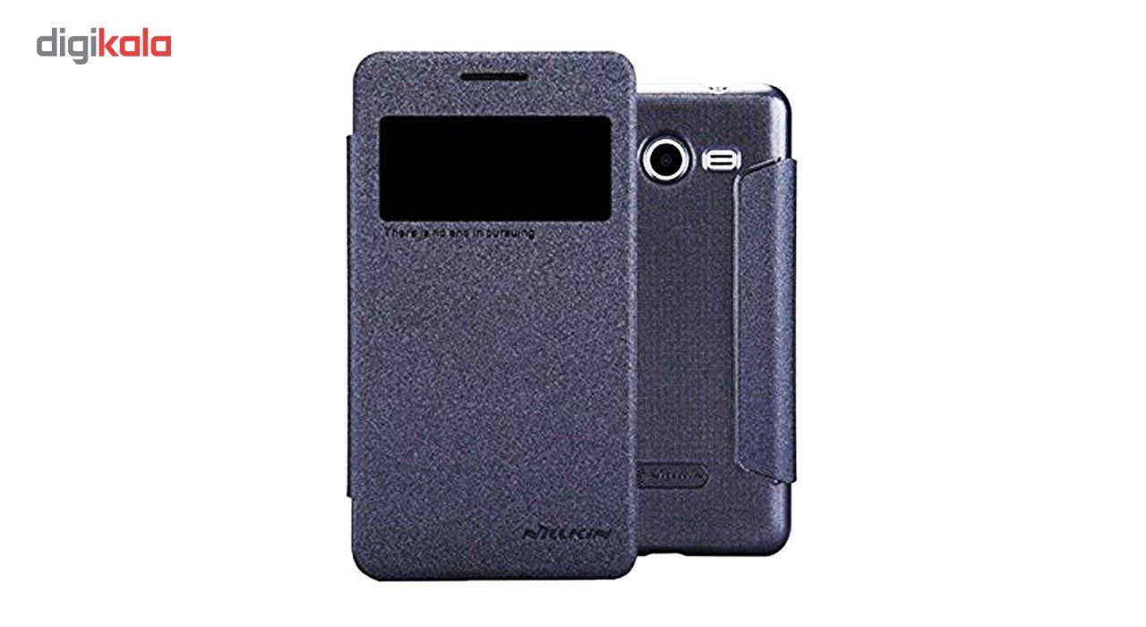 کیف کلاسوری نیلکین مدل New Leather Sparkle مناسب برای گوشی موبایل سامسونگ Galaxy Core 2 main 1 3