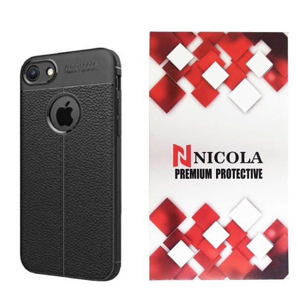 کاور نیکلا مدل N_ATO مناسب برای گوشی موبایل اپل Iphone 4