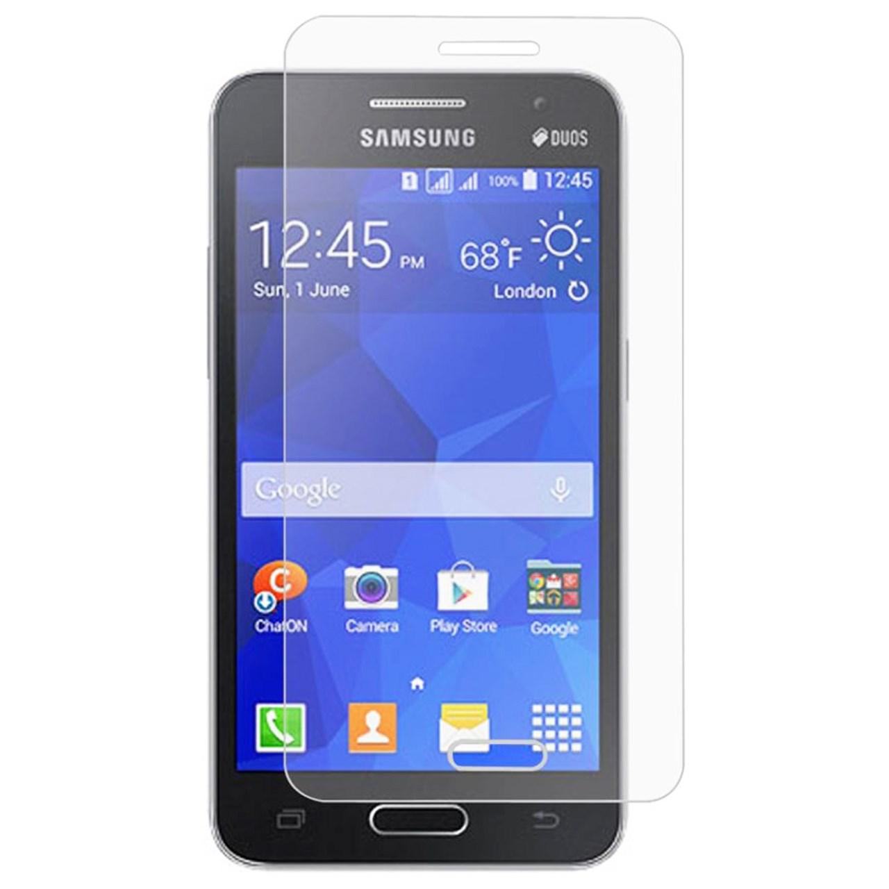 محافظ صفحه نمایش شیشه ای تمپرد مناسب برای گوشی موبایل سامسونگ Galaxy Core 2