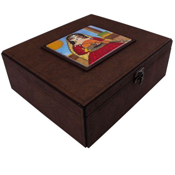 جعبه پذیرایی وندا سایز کوچک تک کاشی