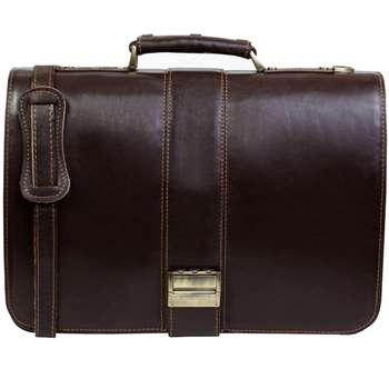 کیف اداری چرم طبیعی چرم ناب کد 130