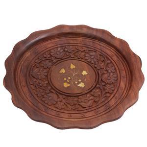 سینی چوبی مدل هندی کد 1