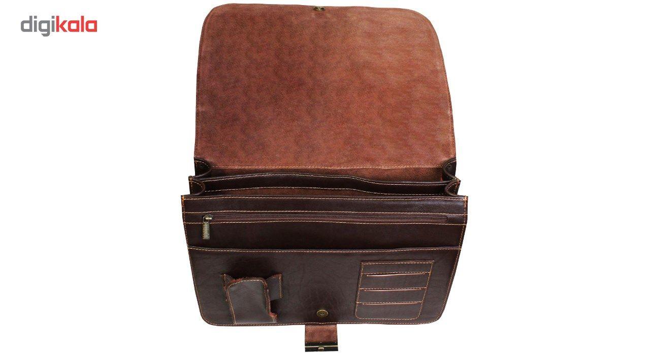 کیف اداری چرم طبیعی چرم ناب کد 130 main 1 3