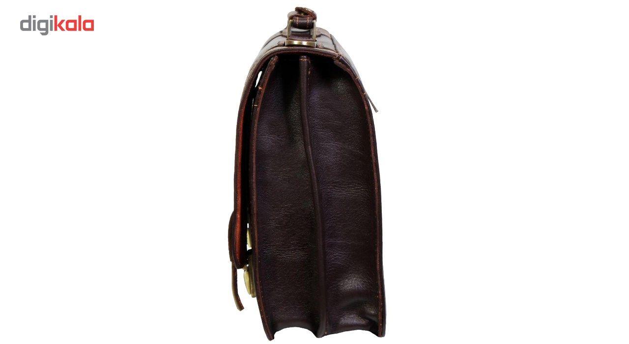کیف اداری چرم طبیعی چرم ناب کد 130 main 1 4