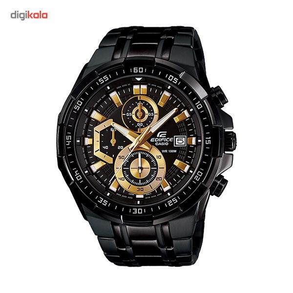 خرید ساعت مچی عقربه ای مردانه کاسیو ادیفایس EFR-539BK-1AVUDF