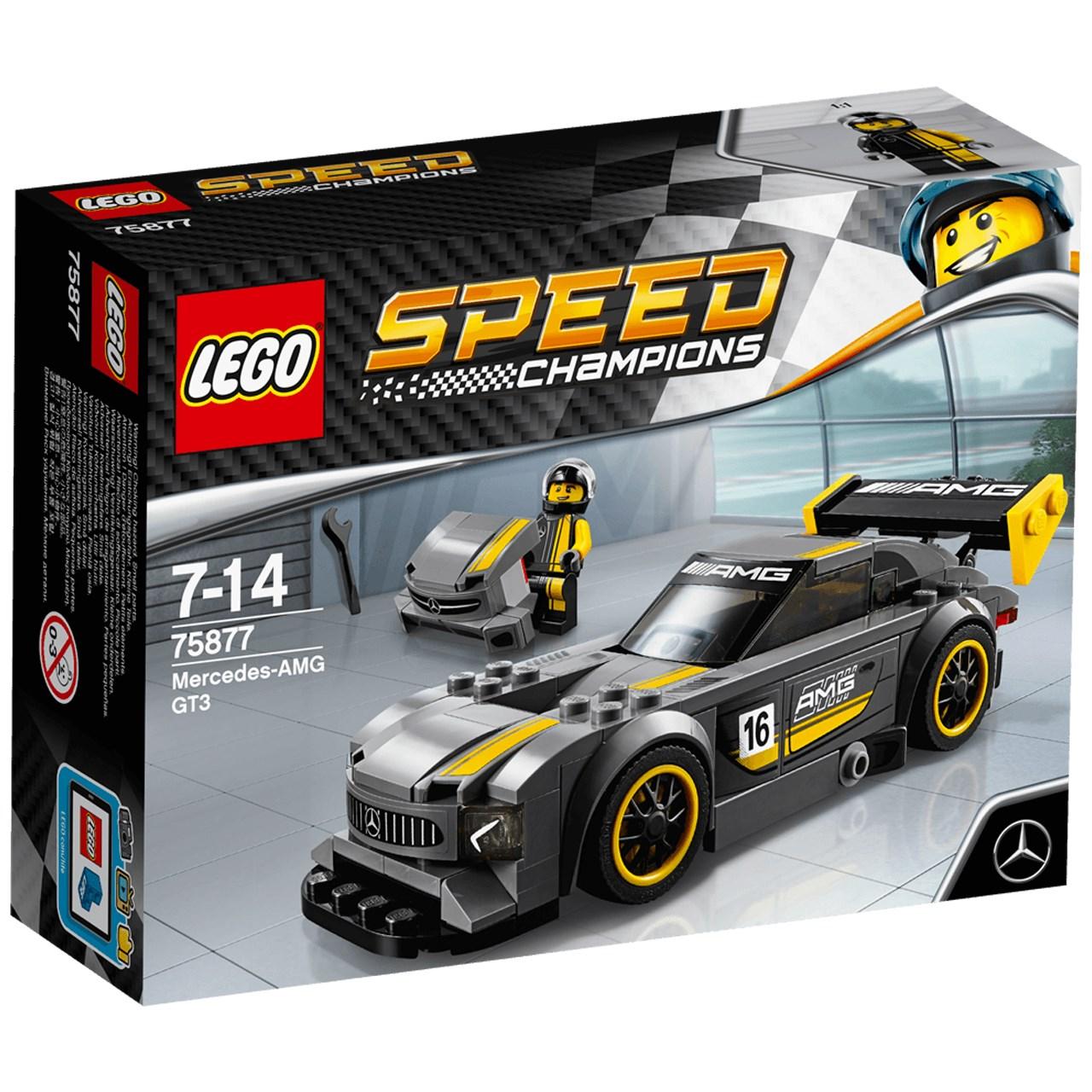 لگو سری Speed مدل Mercedes AMG GT3 75877