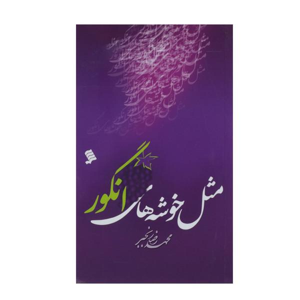 کتاب مثل خوشه های انگور اثر محمد رضا رنجبر