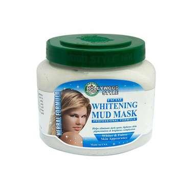 ماسک سفید کننده پوست هالیووداستایل مدلmud mask حجم 320 گرم