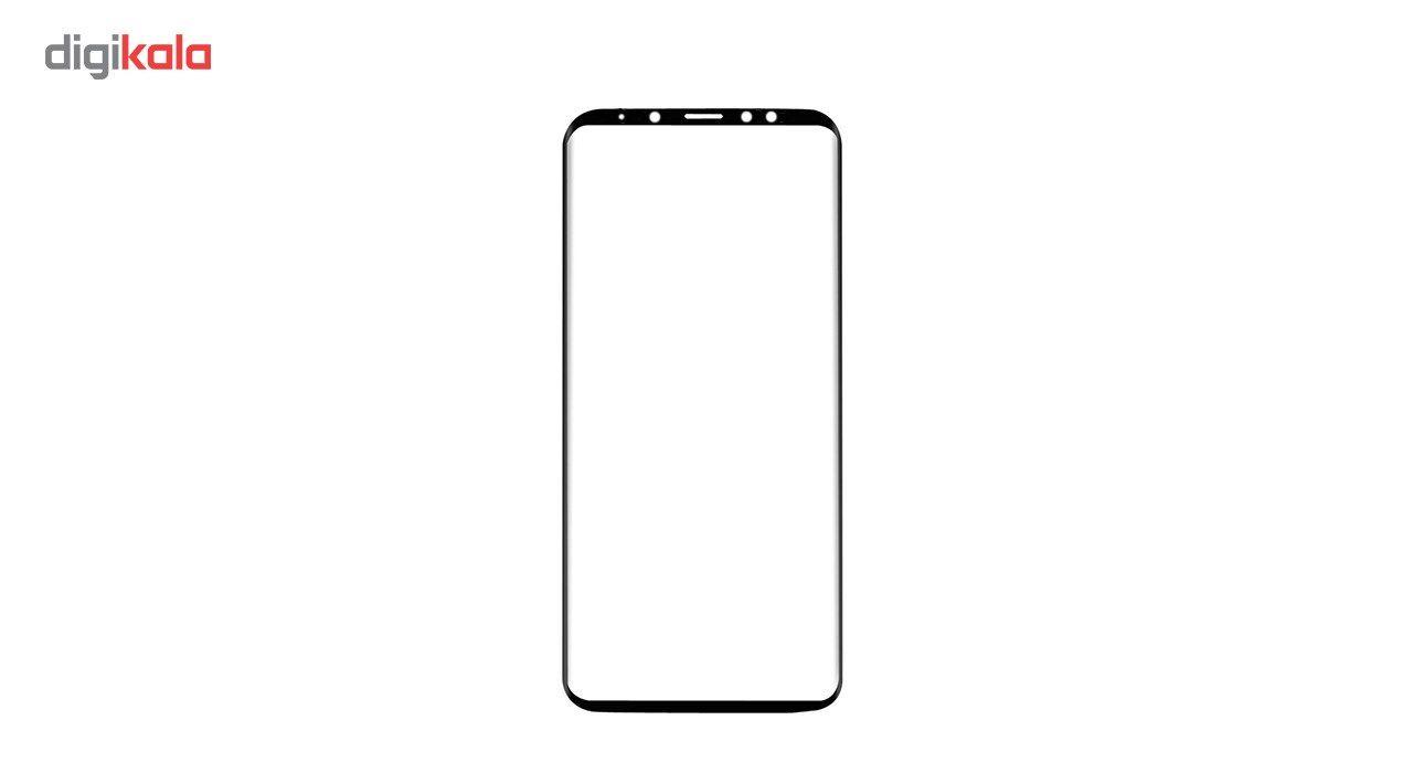 محافظ صفحه نمایش مدل3D Black  مناسب برای گوشی موبایل سامسونگ Galaxy A7-2018 main 1 2