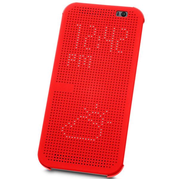 کیف کلاسوری مدل Dot View مناسب برای گوشی موبایل اچ تی سی One M8