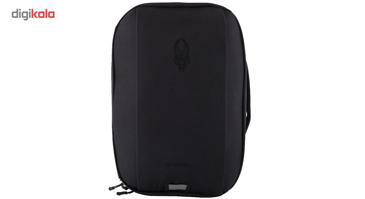 کیف لپ تاپ اُنیسه مدل creative pro مناسب برای لپ تاپ 15 اینچی