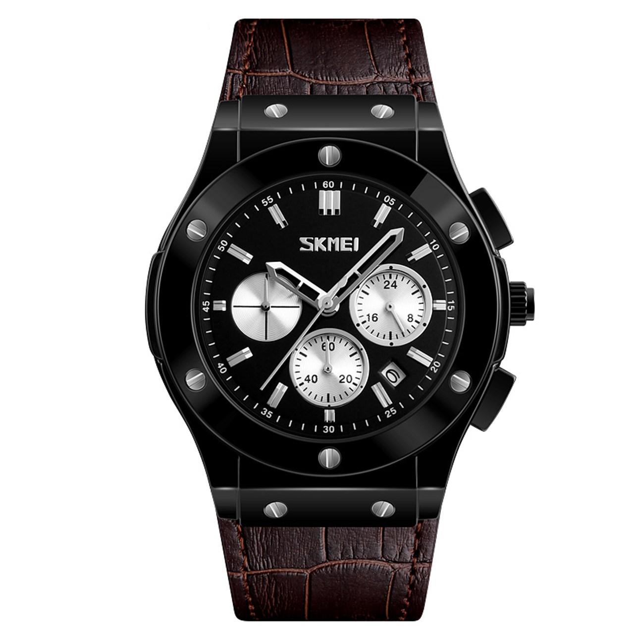 ساعت مچی عقربه ای مردانه اسکمی مدل 9157 کد 02