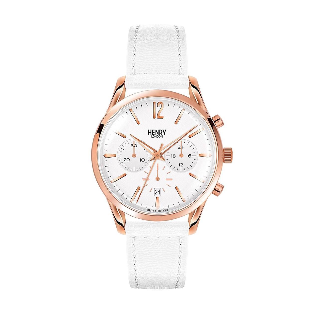 خرید ساعت مچی عقربه ای  هنری لندن مدل Hl39-cs-0126