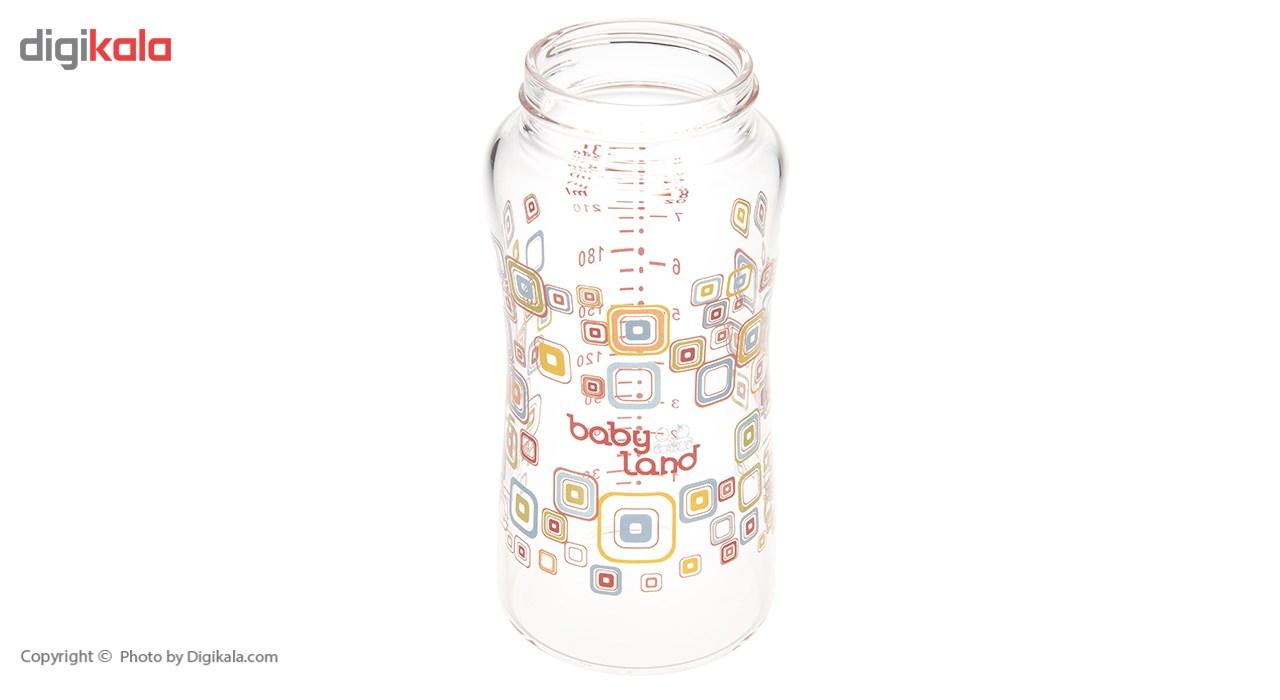 شیشه شیر بیبی لند مدل 373Square ظرفیت 240 میلی لیتر main 1 3