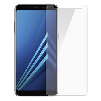محافظ صفحه نمایش شیشه ای مدل Tempered مناسب برای گوشی موبایل سامسونگ Galaxy A8 Plus 2018