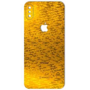 برچسب پوششی ماهوت مدل  Gold-pixel Special مناسب برای گوشی iPhone X