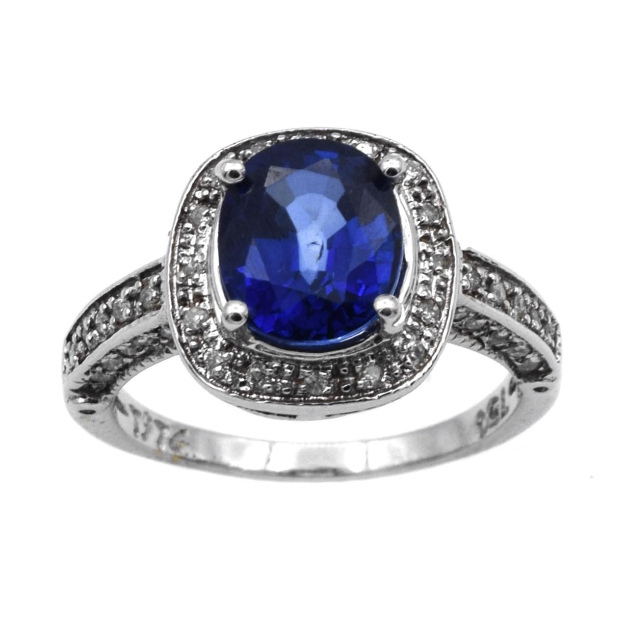 انگشتر طلا 18 عیار جواهری سون مدل 483