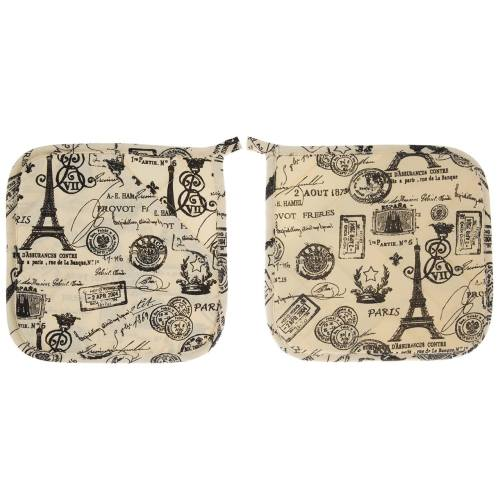 دستگیره رزین تاژ مدل Eiffel بسته 2 عددی