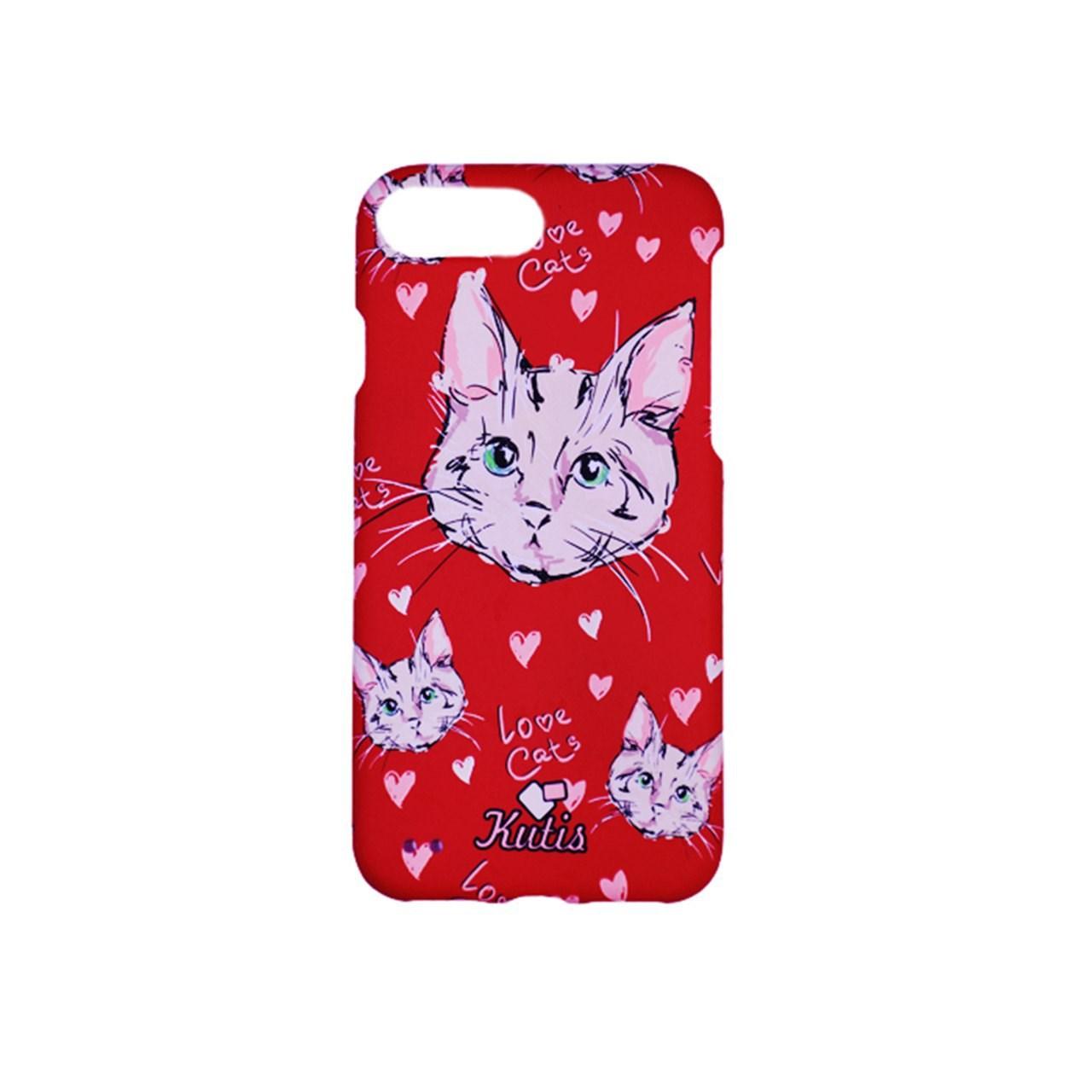کاور گوشی 360 درجه مدل Kutis طرح B -Love cats مناسب برای گوشی آیفون 7/8