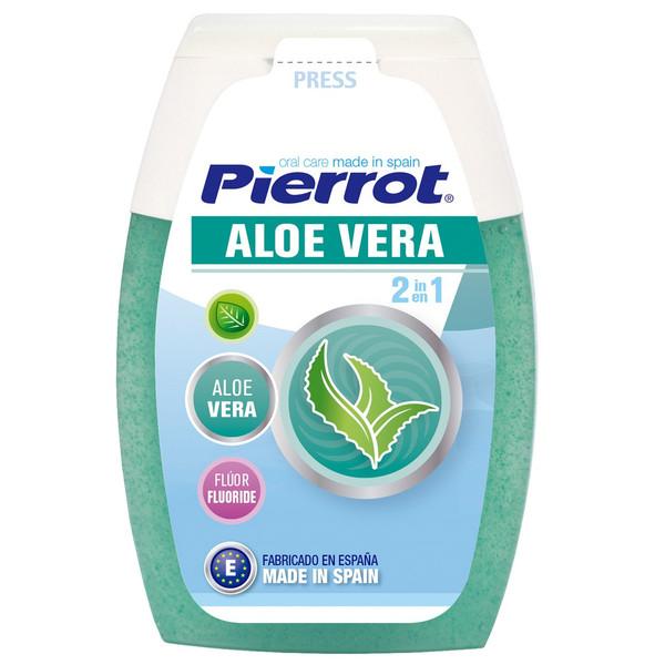 خمیردندان  پیرروت مدل Aloe Vera 2 in 1 حجم 75ml