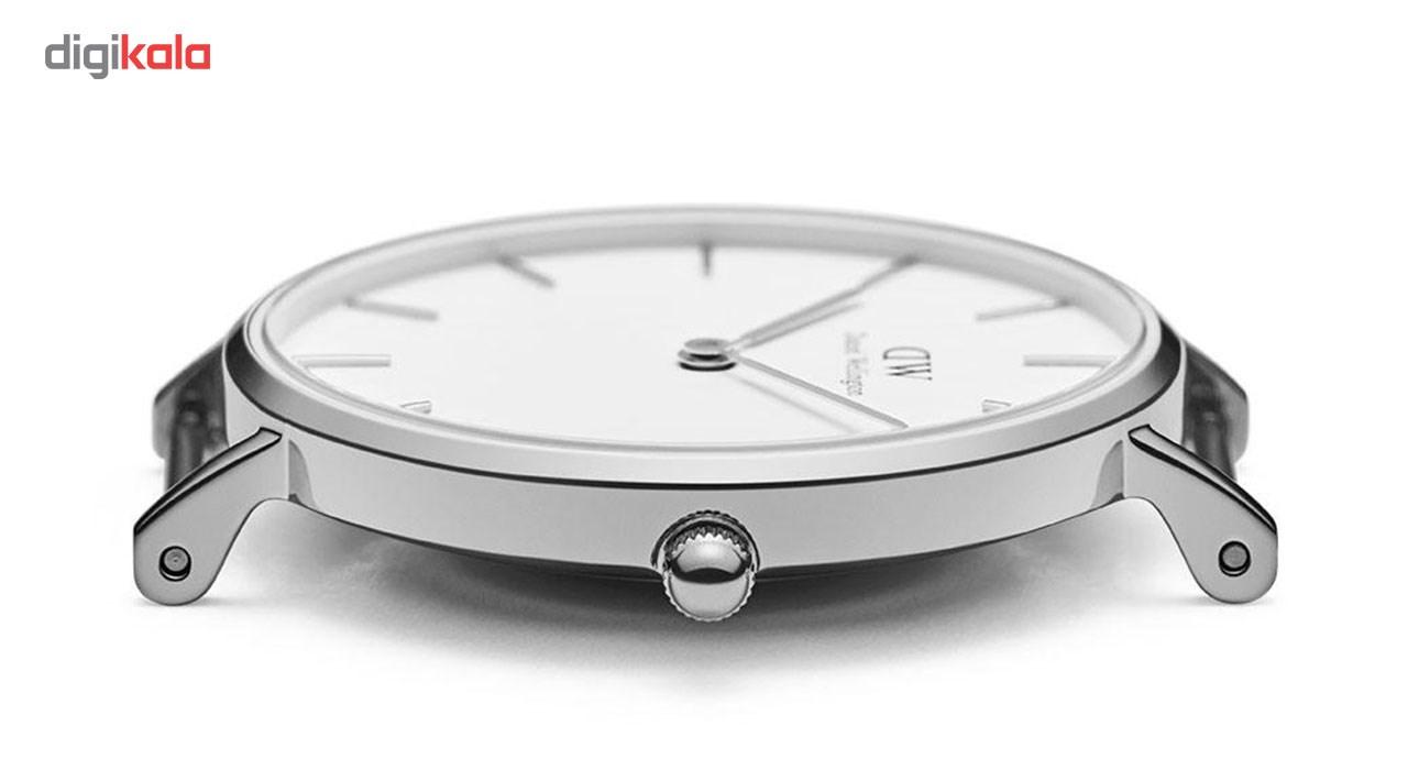 ساعت مچی عقربه ای زنانه دنیل ولینگتون مدل DW00100190