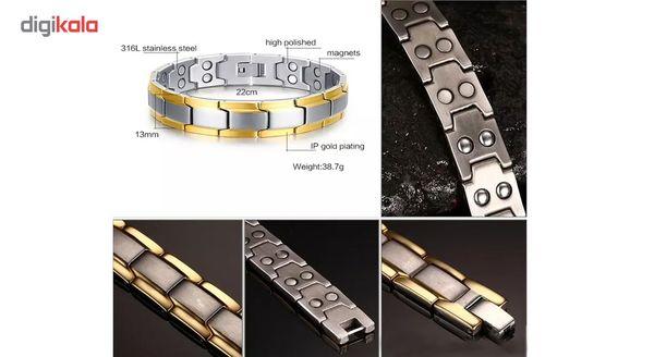 دستبند مغناطیسی سلامت اصل مدل Gold