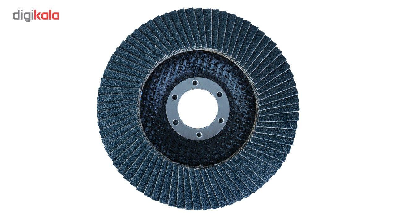 سنباده فلاپ دیسک 10 عددی اپتیما مدل IL115080/60 قطر 60 میلی متر main 1 3