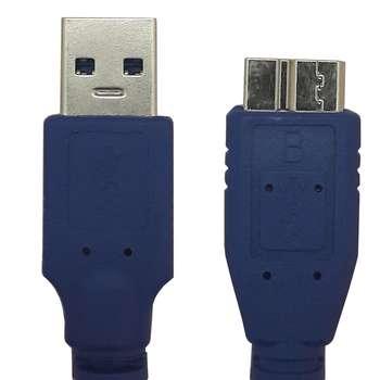کابل تبدیل USB 3.0 به micro-B مدل پی نت  به طول 1.5 متر