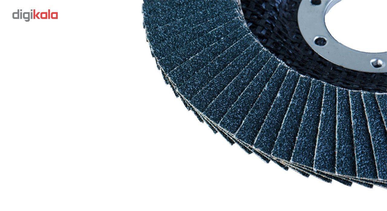 سنباده فلاپ دیسک 10 عددی اپتیما مدل IL115080/60 قطر 60 میلی متر main 1 5