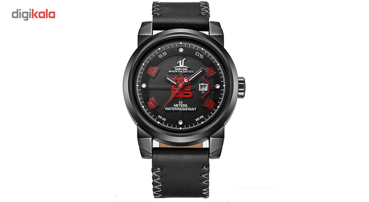 خرید ساعت مچی عقربه ای مردانه وید مدل UV1509-RED-FULLBLACK