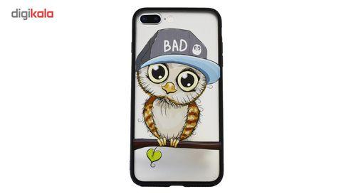 کاور سخت دور ژله ای کنزو مدل Bad Owl  مناسب برای آیفون 7 پلاس / 8 پلاس