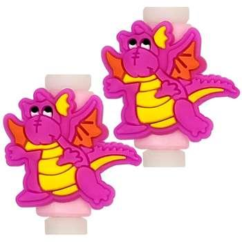 تصویر محافظ کابل مدل Cute Dinosaur 02 بسته 2 عددی