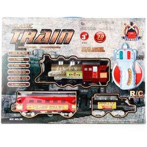قطار کنترلی کلاسیک مدل 30 قطعه