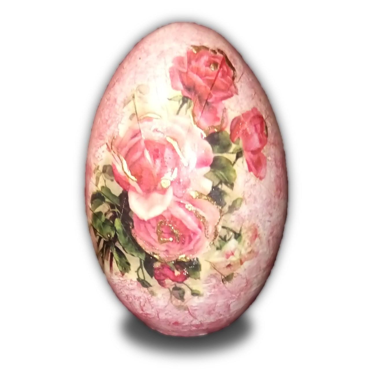 تخم شتر مرغ تزیینی آفتاب شب کد1
