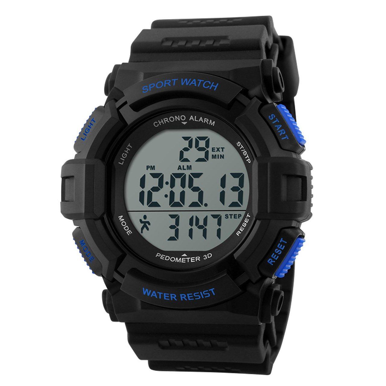ساعت مچی دیجیتال اسکمی مدل 1116 آبی -  - 1