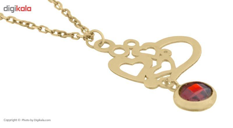 آویز ساعت طلا 18 عیار ماهک مدل MW0274 - مایا ماهک