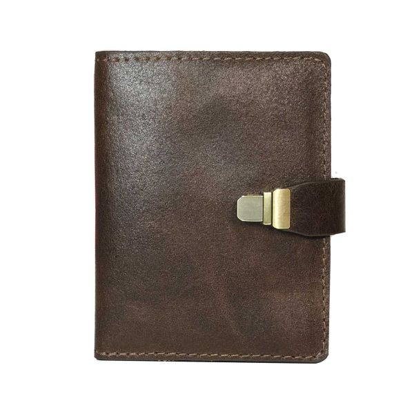 کیف  پول چرم طبیعی گلیما مدل 218.1