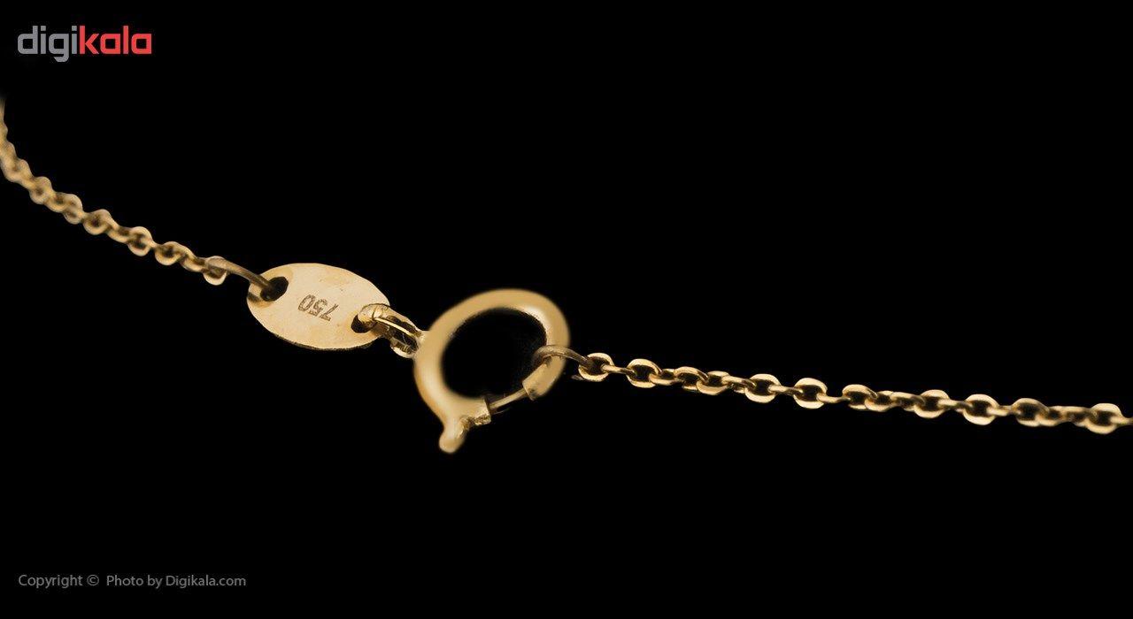 گردنبند طلا 18 عیار ماهک مدل MM0710 - مایا ماهک -  - 4
