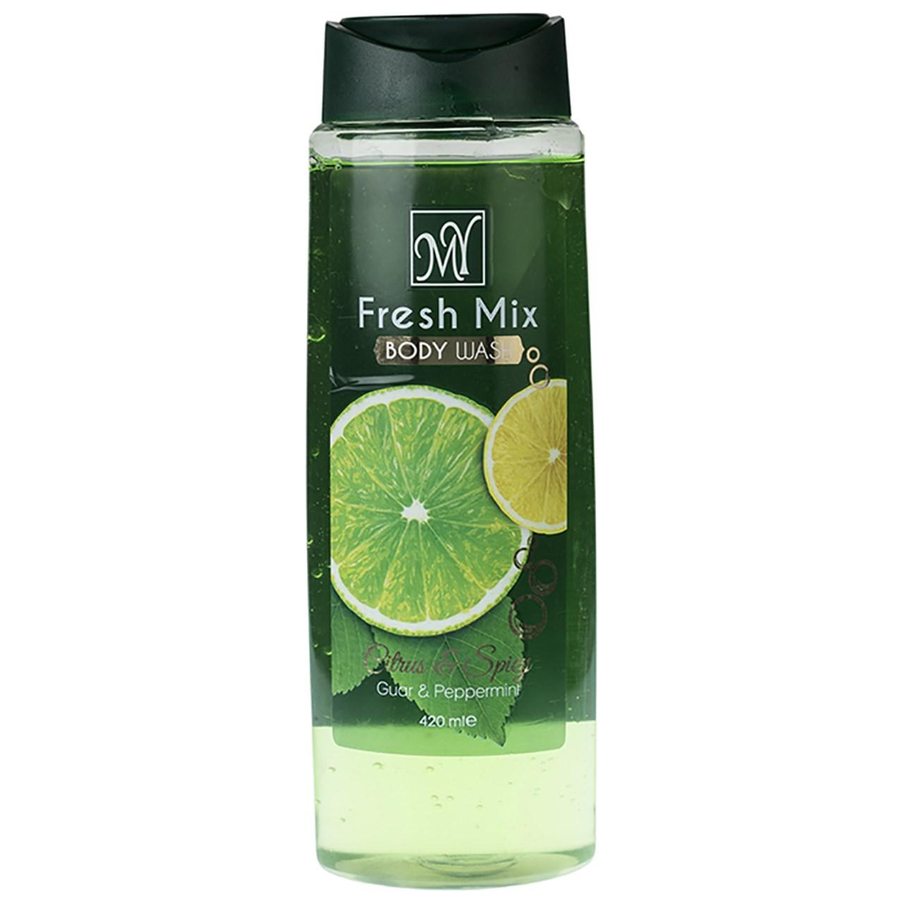 قیمت شامپو بدن مای مدل Fresh Mix حجم 420 میلی لیتر