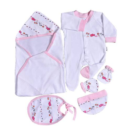 ست لباس نوزادی وان بای وان مدل S001