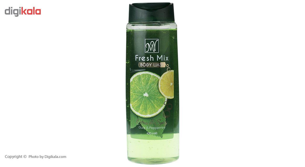 شامپو بدن مای مدل Fresh Mix حجم 420 میلی لیتر -  - 3