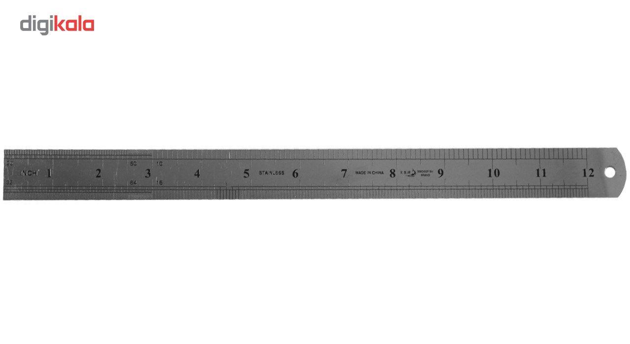خط کش 30 سانتی صامو پرشین مدل G 742 main 1 2