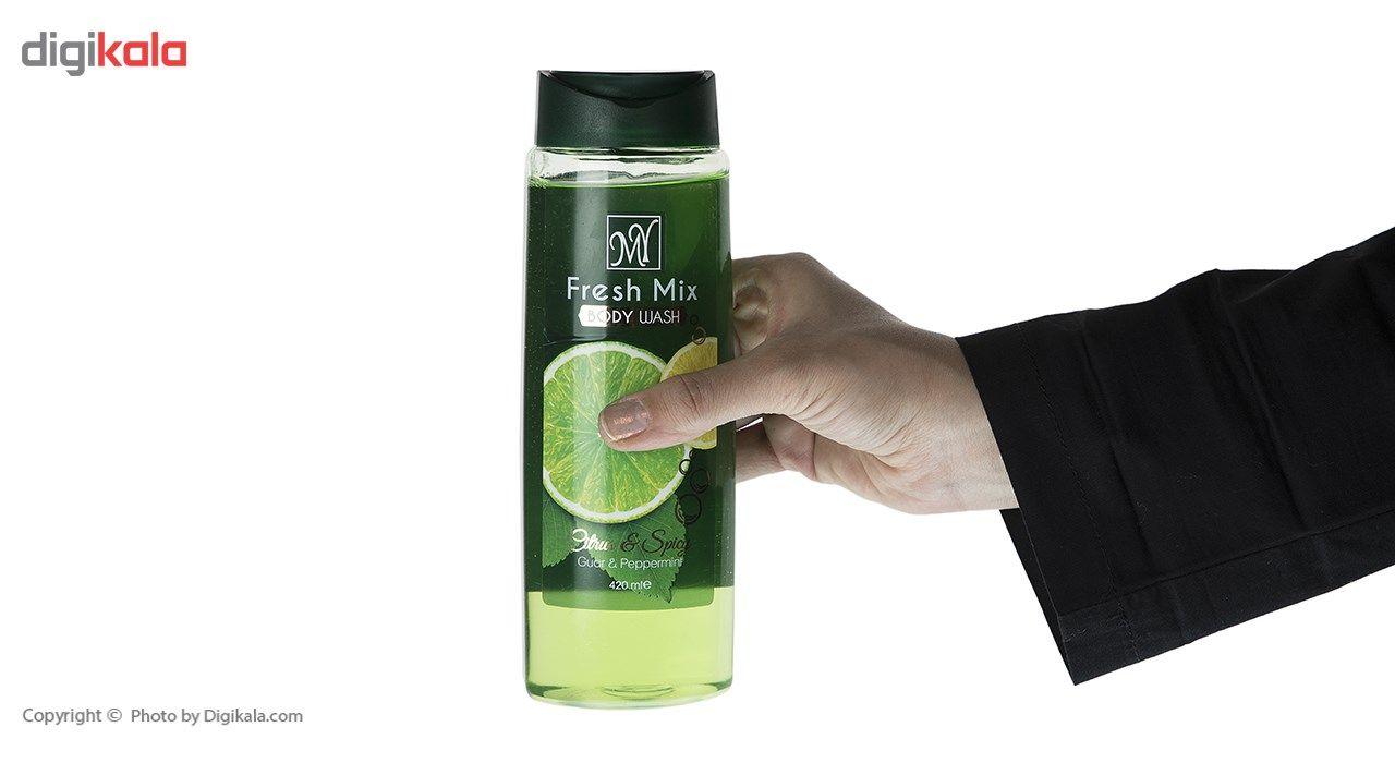 شامپو بدن مای مدل Fresh Mix حجم 420 میلی لیتر -  - 2