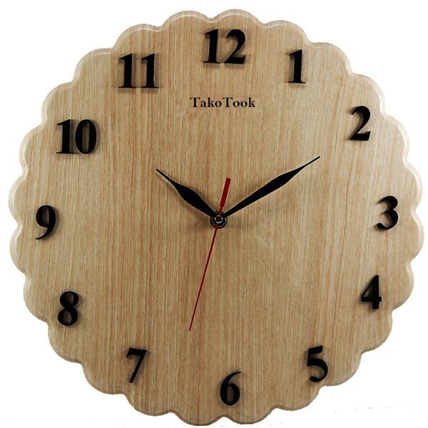 ساعت دیواری تک و توک مدل T-022