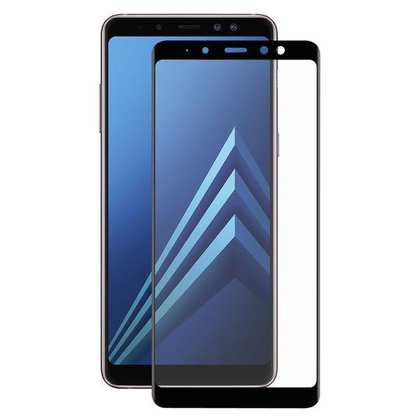 محافظ صفحه نمایش تمپرد مدل فول چسب مناسب برای گوشی موبایل سامسونگ Galaxy A8 Plus 2018